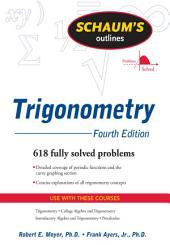 Schaum's Outline of Trigonometry, 4ed: Edition 4