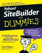 Yahoo! SiteBuilder For Dummies