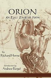 Orion: An Epic English Poem