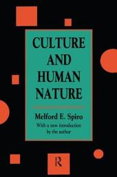 Culture and Human Nature