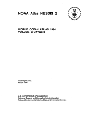 World Ocean Atlas: 1994 Oxygen