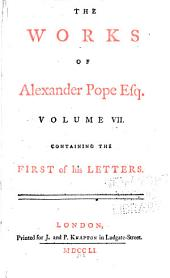 The Works of Alexander Pope Esq