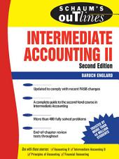 Schaum's Outline of Intermediate Accounting II, Second Edition: Edition 2