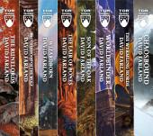 The Runelords Series: (The Runelords, Brotherhood of the Wolf, Wizardborn, The Lair of Bones, Sons of the Oak, Worldbinder, The Wyrmling Horde, Chaosbound)
