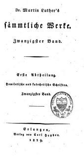 Sämmtliche Werke: nach den ältesten Ausgaben, Band 20