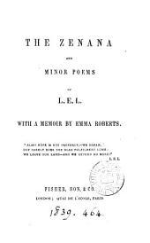 The Zenana, and minor poems of L.E.L.