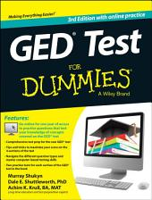 GED Test For Dummies: with Online Practice, Edition 3