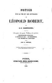 Notice sur la vie et les ouvrages de Léopold Robert