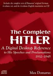 THE COMPLETE HITLER - Speeches and Proclamations