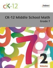 CK-12 Middle School Math Grade 7, Volume 2 Of 2
