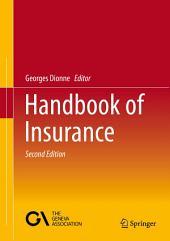 Handbook of Insurance