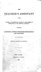 """The teacher's assistant in the """"Course of mathematics adapted to the method of instruction in the American colleges"""