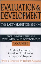 Evaluation and Development: The Partnership Dimension