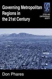 Governing Metropolitan Regions in the 21st Century