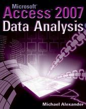 Microsoft Access 2007 Data Analysis