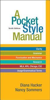 A Pocket Style Manual: A PDF-style e-book, Edition 6