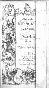 Altdänische Heldenlieder, Balladen und Märchen