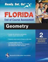 Florida Geometry End-of-Course Assessment Book + Online