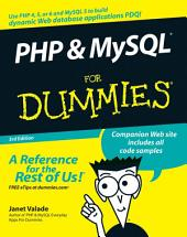 PHP and MySQL For Dummies: Edition 3