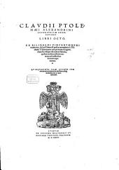 Geographicae Enarrationis Libri Octo: gewidmet Sebastiano episcopo Brixinensis