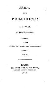 Pride and Prejudice: A Novel. : In Three Volumes, Volume 2