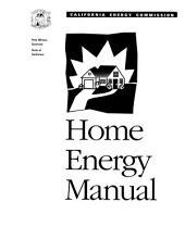 Home Energy Manual