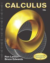 Calculus: Edition 10