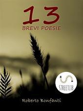 13 Brevi Poesie