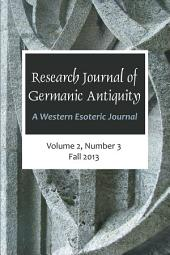Research Journal of Germanic Antiquity: A Western Esoteric Journal Vol.2