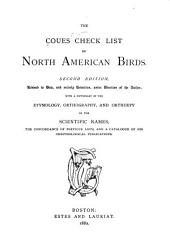 The Coues Check List of North American Birds