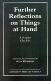 Further Reflections on Things at Hand: A Reader