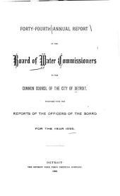 Annual Operating Report: Volume 44