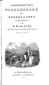 Aardrijkskundig Woordenboek der Nederlanden: A, Volume 1