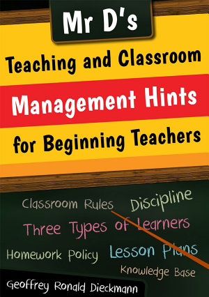 Book Cover - Hints for beginner teachers