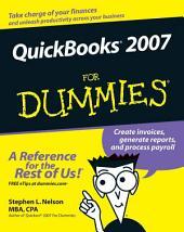 QuickBooks 2007 For Dummies: Edition 14