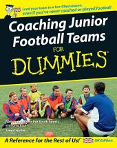Coaching Junior Football Teams For Dummies