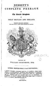 Debrett's Complete Peerage of the United Kingdom of Great Britain and Ireland