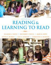 Reading and Learning to Read: Edition 9
