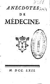 Anecdotes de médecine