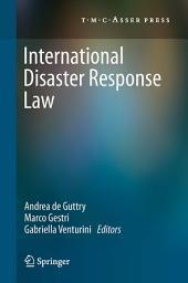 International Disaster Response Law