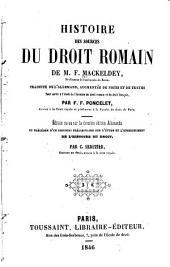 Histoire des sources du droit romain ...