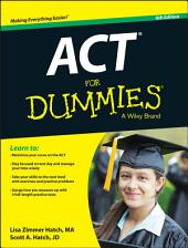 ACT For Dummies: Edition 6
