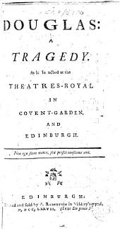 Douglas: a tragedy, etc. [By John Home.]