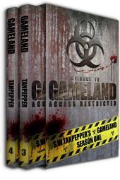 Deadman's Switch + Sunder the Hollow Ones (GAMELAND Books 3+4): S.W. Tanpeper's GAMELAND