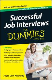 Successful Job Interviews For Dummies