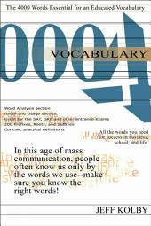 Vocabulary 4000 Ebook: The 4000 Words Essential for an Educated Vocabulary