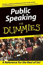 Public Speaking For Dummies: Edition 2