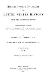 Harper's Popular Cyclopædia of United States History from the Aboriginal Period