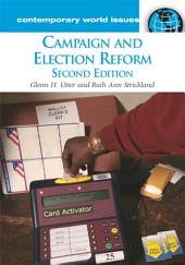 Campaign and Election Reform: A Reference Handbook