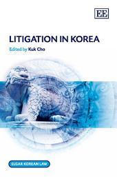 Litigation in Korea